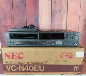 Vintage NEC Video Cassette Recorder Beta Max Player vc-n40eu mit OVP
