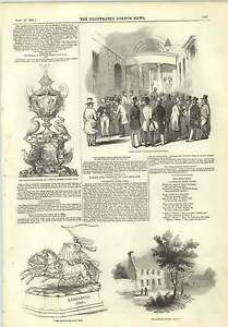 1845-Goldsmiths-House-Lissoy-Royal-Court-Railway-Speculators-Doncaster-Cup