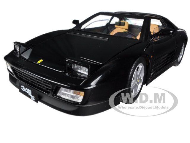 Ferrari 348 Toy Soldier Elite Edition noir 1 18 Diecast voiture modèle par HOTWHEELS X5481