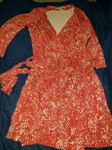 DVF Wrap Dress Size 12