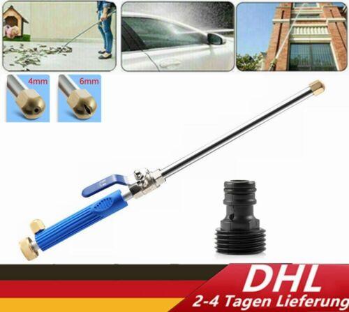 Auto Hochdruck Wasserpistole Düse Sprühlanze für Gartenschlauch Wasserlanze DHL