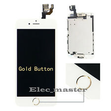 For iPhone 6 6S LCD Display Touch Screen Digitizer Full Assembly + Home Button