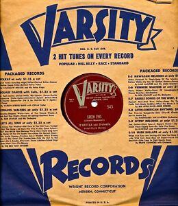 D'ARTEGA and Orchestra on 1940s Varsity 543 - Green Eyes