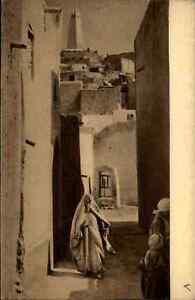 Algerien-Ghardaia-Ghardaja-Einheimische-Heimatbeleg-im-Postkarten-Format-1940