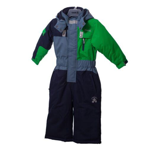 KAMIK Zoom Suit Kids fern KWB2566  Overall Schneeanzug Skianzug  blau grün /%/%/%/%