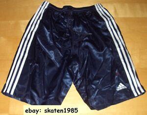 Adidas-Glanz-Shorts-nylon-Short-Turnhose-Sporthose-Sprinter-Glanzshorts-Gr-4-5