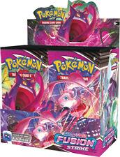 Fusion Strike Sword & Shield Booster Box Pokemon Sealed Presell Ships Nov 12th