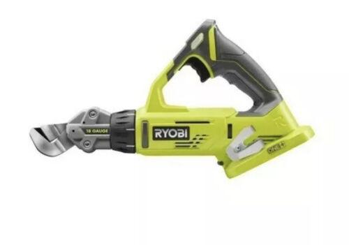 Bare Tool *NEW* 18V 18 Gauge Offset Shear Sheet Metal Saw Ryobi P591 ONE