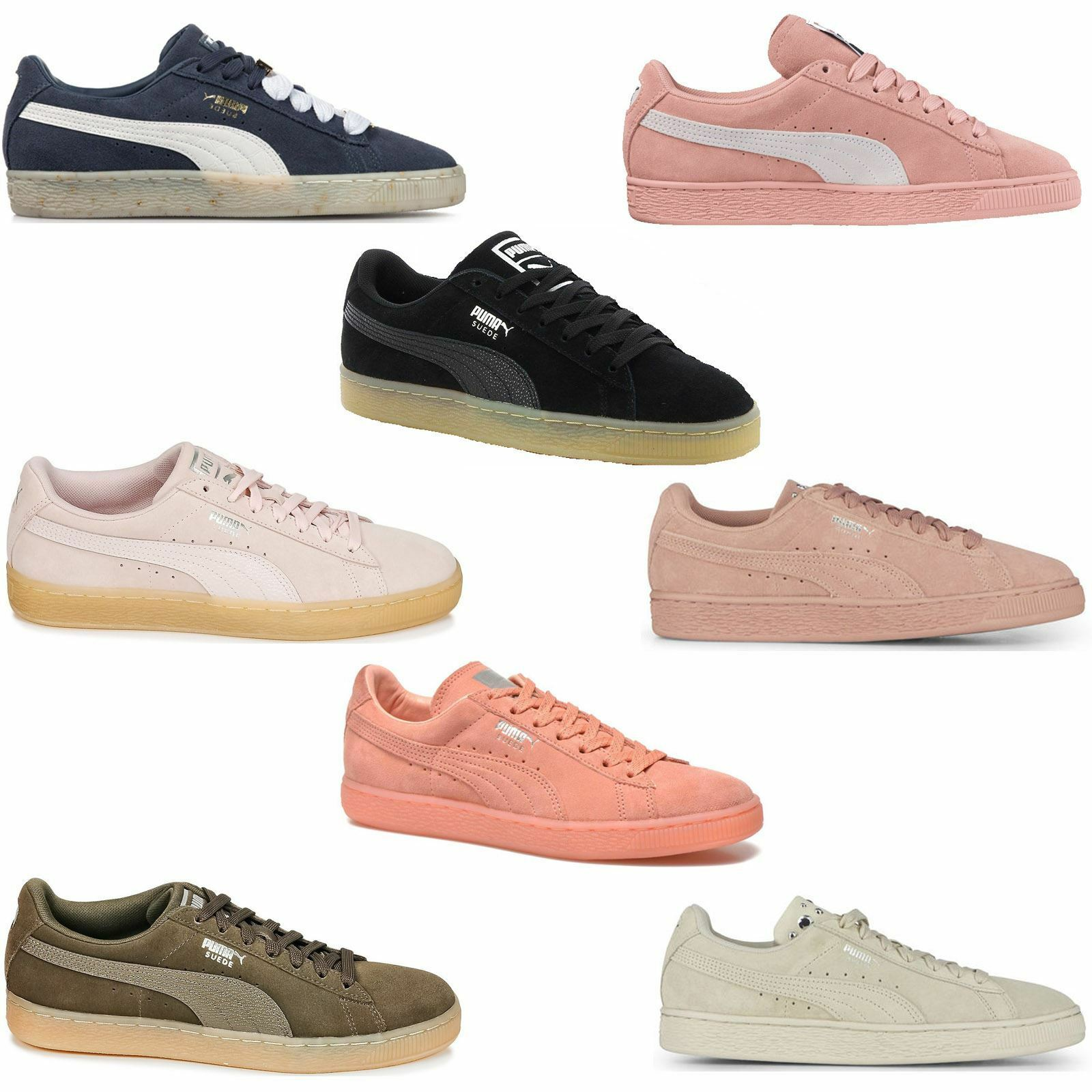 Puma Suede Classic Bubble 366440-03 Womens Trainers~RRP £75~Sizes UK 3.5 to 8
