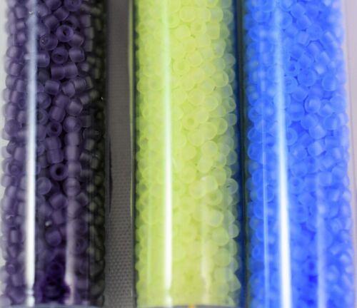 15 GMS Esmerilado Toho tamaño 11 Semilla Cuentas-elección de tres colores