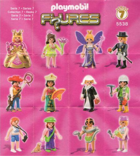 PLAYMOBIL Figures Tüten Girls Serie 7 #5538 zum aussuchen