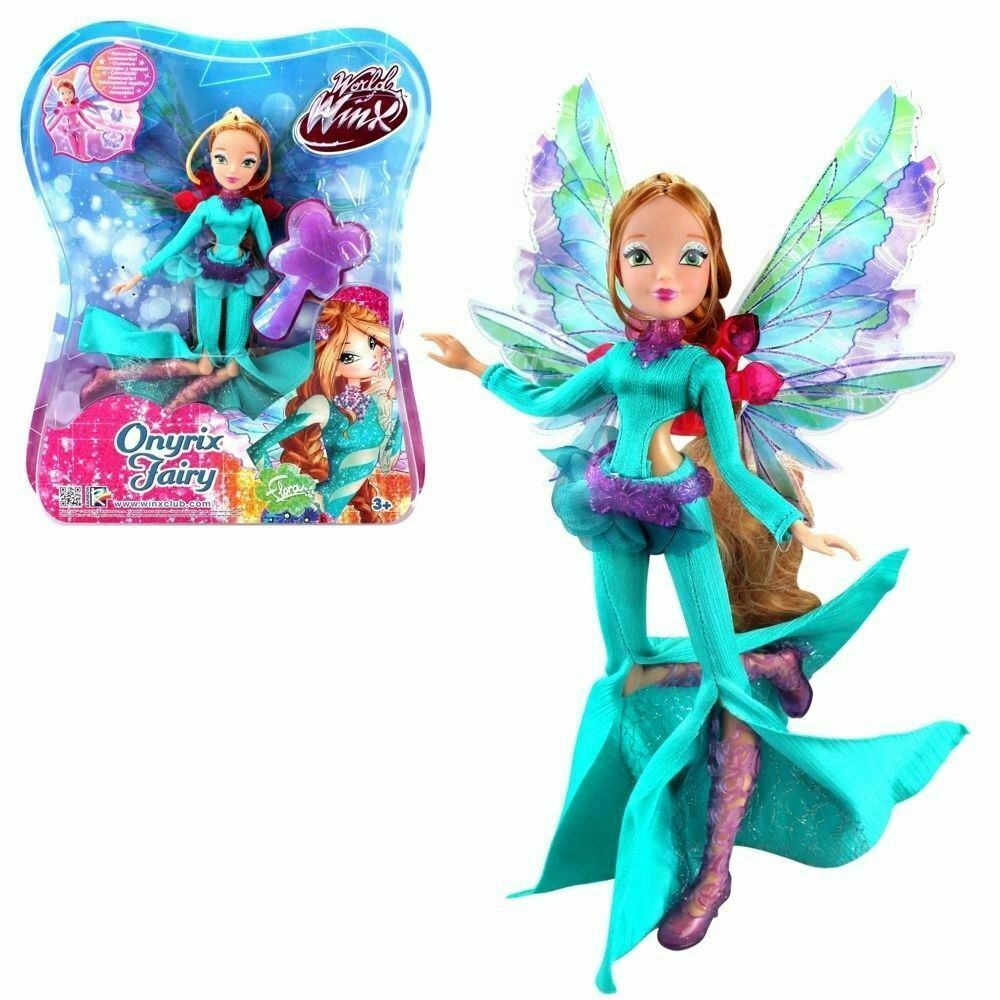 Winx Club Onyrix Onyrix Onyrix Fairy Flora Doll Figure Tv Serie 11'' 2707c6