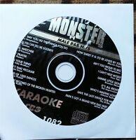Male R&b Hits Karaoke Cdg Monster Hits Cd+g Mh1082 - Marvin Gaye,james Brown