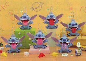 Sega-Disney-Lilo-amp-Stitch-3-034-Plush-keychain-mascot-039-Raspberry-039-tongue-STITCH