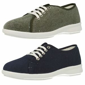 LADIES EASY B DB ANTHEA LACE UP SMART