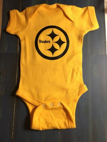 Brand New Rabbit Skin Baby One Piece bodysuit Steelers U PICK color and size