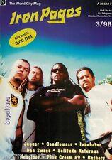Iron Pages Nr.46 - 3/1998,Sepultura,Candlemass,Jaguar,Bathory,Pink Cream 69,Dan