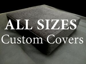 Foam Cushion Replacement Sofa Seat COVER ONLY All Sizes Top