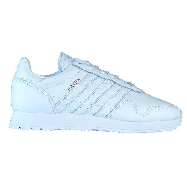 Adidas Haven Vintage Originals Herren Turnschuhe weiß Leder CQ3037
