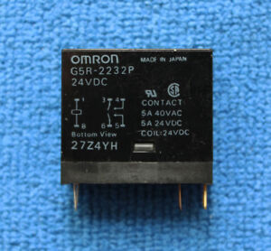 Omron Electronics General Purpose Relays Omron 1pcs G2RL-2A4-DC24