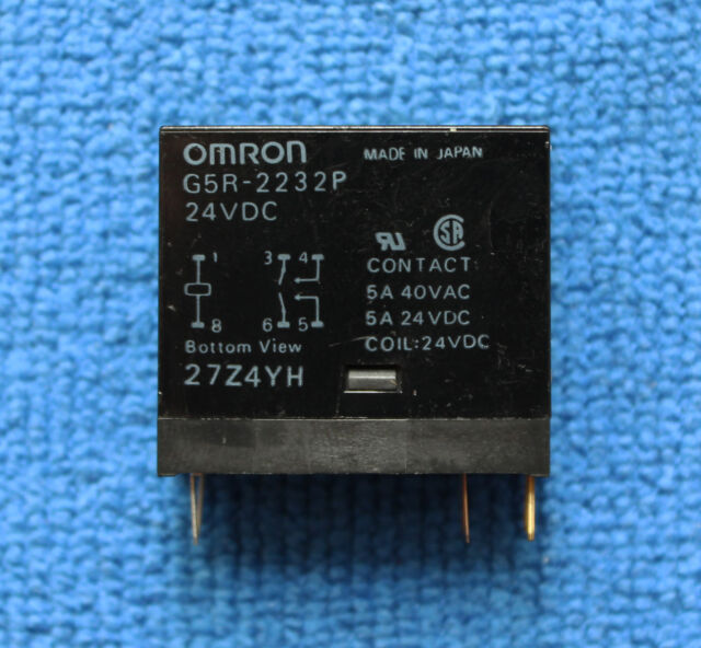 1pcs G5R-2232P-24VDC G5R-2232P 24VDC Relay, OMRON Brand New