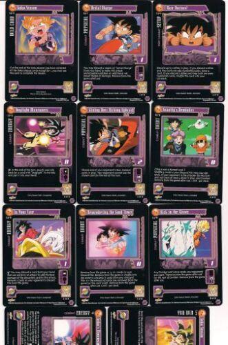 DBZ GT TCG LEAGUE SET Goku Season L3-0 through L3-9 and L3 11 cards total NM//M