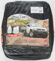 Full Car Pack Waterproof Canvas Car Seat Covers Mitsubishi Triton 06-on