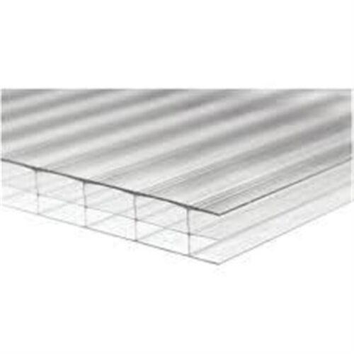 25mm *Clear* Multi wall Polycarbonate Sheet 1600mm wide x 2000mm long