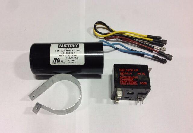~Discount HVAC~ OS-HS0701AAA Orion Hard Start Kit 1.5-3Ton 189-227MFD 330VAC