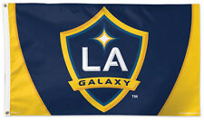 L.A. GALAXY Football Club Huge 3'x5' Official MLS Soccer DELUXE FLAG