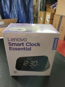 Lenovo Smart Clock Essential Speaker - Soft Touch Gray (ZA740005US)