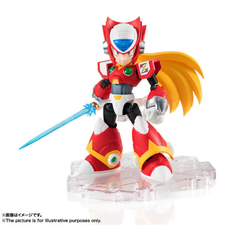 BANDAI NXEDGE STYLE MEGA MAN UNIT ROCKMAN ZERO NX-0029 ACTION FIGURE