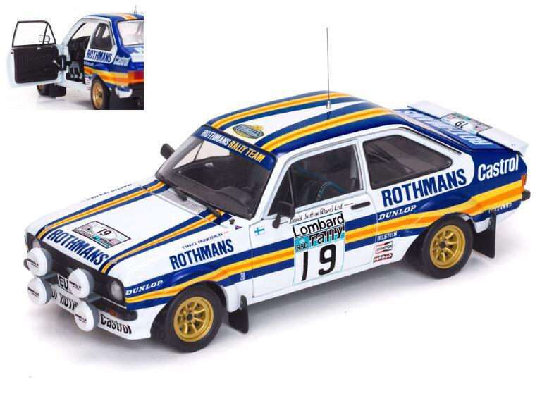 Ford  Escort Mkii Rs 1800  19 6th Rac Rally 1980 T. Makinen   M. Holmes 1 18 4497  magasiner en ligne aujourd'hui