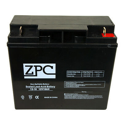 Mighty Max Battery ML18-12 12V 18AH SLA Battery Replacement for A.P.C SU2200XLTX153 Brand Product