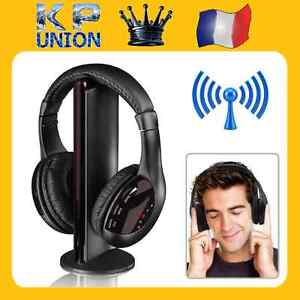 CUFFIE-PER-PC-5-IN-1-SENZA-FILI-AURICOLARI-Hi-Fi-RADIO-FM-TV-MP3-MP4-48h