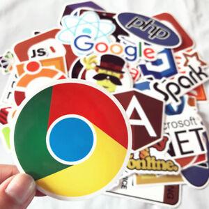 Programmation-50pcs-Developer-Autocollants-Programmation-vinyl-decals-stickers