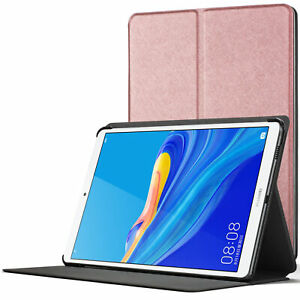 Huawei-Mediapad-M6-8-4-Smart-Case-Magnetic-Protective-Cover-Stand-Rose-Gold