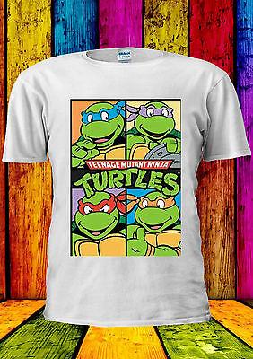 Attivo Teenage Mutant Ninja Turtles Tutti T-shirt Canotta Tank Top Uomini Donne Unisex Interrogazione-mostra Il Titolo Originale Abbiamo Vinto L'Elogio Dai Clienti