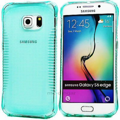 ULTRA THIN TRANSPARENT TPU SOFT BUMPER CASE COVER FOR SAMSUNG GALAXY S6 EDGE