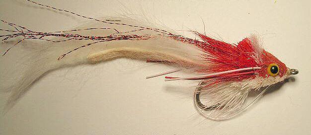 Dahlberg Rabbit Strip Diver Red/White 3/0 Saltwater