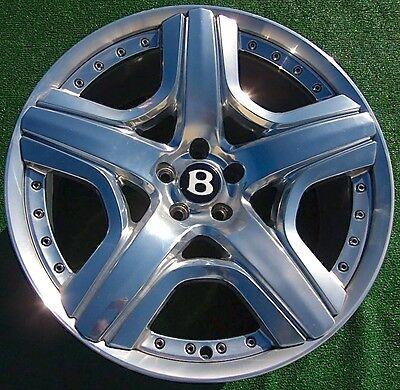 2016 Set Genuine OEM Bentley Continental MULLINER 21 inch 2-Piece Modular WHEELS