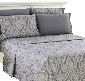 6-Piece-Paisley-Printed-Deep-Pocket-Bed-Sheet-Set-8-Beautiful-Colors-Available