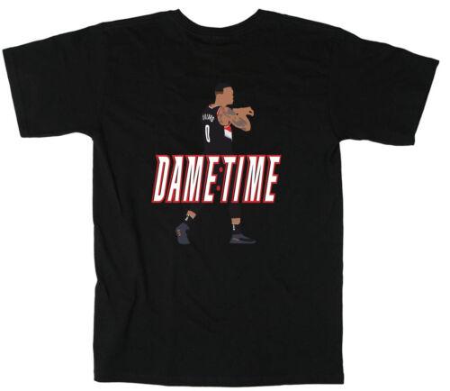 """Damian Lillard Portland Trail Blazers /""""DAME TIME/"""" T-Shirt"""