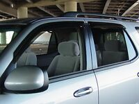 Tape-on Vent Visors 4 Piece For A Chevrolet Suburban 2015 - 2016