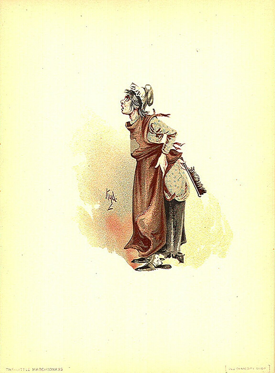 Mr Bumble by Kyd 1899 from Charles Dickens Oliver Twist 7x5 Inch Reprint