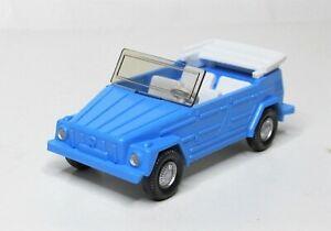 Wiking-1-87-VW-181-offen-Sonderfarbe-hellblau-PMS