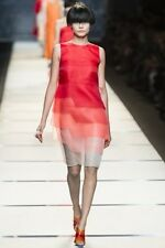 Authentic Fendi Ombre Dress IT38 US 2 XS Runway SS14