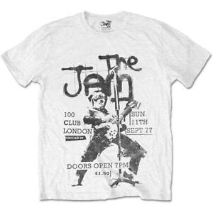 The-Jam-Live-at-The-100-Club-039-77-T-Shirt-Official-Merch-Paul-Weller-Mod