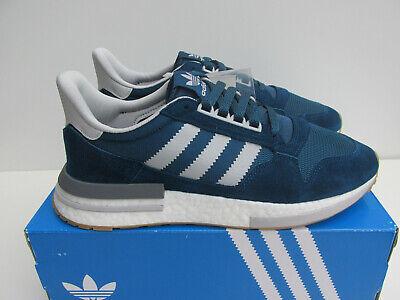 bnib ADIDAS ZX500 RM UK 9.5 F36882 Blue