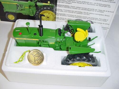 1//16 John Deere 3010 Precision #20 Narrow Front Tractor by ERTL NIB!